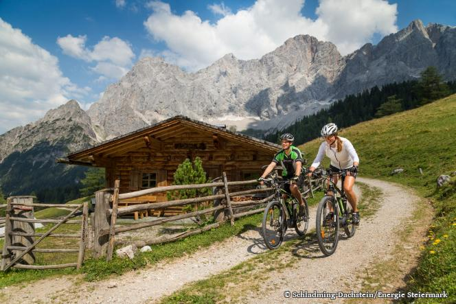 E-Biking in Schladming-Dachstein region